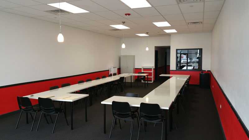 Conference Room Tenant Finish - Prospect 30 Eight Construction