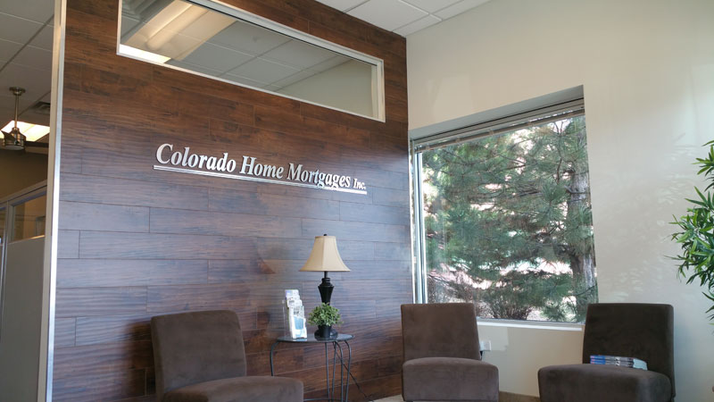 Colorado Home Mortgage Tenant Finishes by Prospect 30 Eight Construction