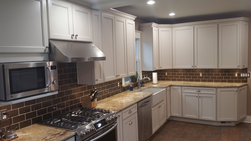 "Clarkson Kitchen remodel ""after"" photo. Prospect Thirty Eight Construction"